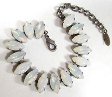 Modeschmuck-Armbänder aus Glas und Metall-Legierung