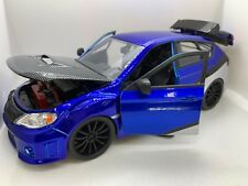2012 Subaru Impreza WRX STI JADA Fast And Furious 1:24 Diecast Car
