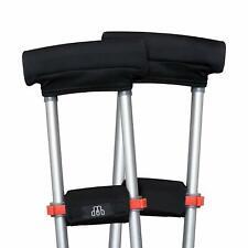 Underarm Crutch Pad & Hand Grip Covers MDUB Medical Comfortable Padding Washable