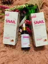 Snail Double Serum White Aura Plus Whitening Serum Gluta & Vitamin E Au Seller