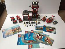 Lego Classic Fire Station bundle Sets 7240, 7241, 7043, 7942