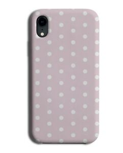 Baby Pink Polka Dots Phone Case Cover Dot Design Pale Light Coloured Girls H315
