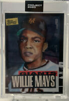 2020 Topps Project /10568 Willie Mays Jacob Rochester #101 HOF READ