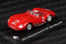 Maserati 450 S Venezuela Grand Prix 1957 #2 Behra/ Moss/ Schell 1/43