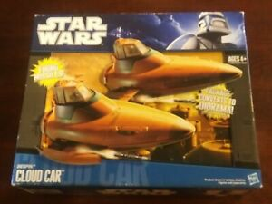 Star Wars 2010 BESPIN CLOUD CAR Legacy Collection New In Open Box