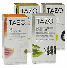TAZO Starbucks Herbal Tea * CHOOSE YOUR FLAVOR * 20 sachets NEW Green Black Chai