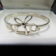 LESTAGE STERLING SILVER BRACELET, SIZE 6.5 , CHRISTMAS, PRESENT, GIFT BOX W/BOW