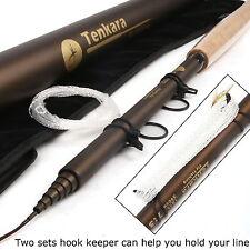 Telescoping Fly Rod 13FT Tenkara Fly Fishing Rod & Carbon Tube & Tenkara Line