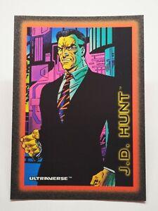 Ultraverse B32 1993 Skybox DC Comic Marvel trading card #63 J.D Hunt