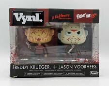 Freddy vs. Jason Vynl Vinyl Figures 2-Pack Funko Friday The 13th