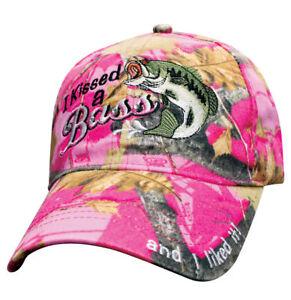 Women's Full Pink Camo Hat Country Muddy Southern Girl Fish Bass Fishing Hat