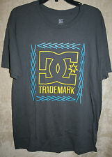 NEW DC Crew short Sleeves Graphic Tee shirt Trademark Emblem L mens