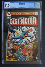 DESTRUCTOR #1 ORIGIN 1st Atlas/Seaboard 1975 DITKO WALLY WOOD TV Movie CGC 9.6