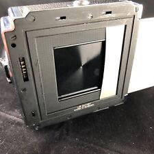 Hasselblad A16 Cromo S 41 X 41mm 120 rollo de película Back, insertar a juego, manual