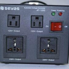 Seyas Automatic Voltage Converter At-1000-Black