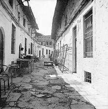 JANINA c. 1960 - Vieille Rue Grèce - Négatif 6 x 6 - GRE 57