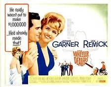 THE WHEELER DEALERS Movie POSTER 22x28 Half Sheet B James Garner Lee Remick Jim