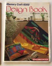 Janome Memory Craft 6000 Design Book Computer Embroidery Patterns Instructions