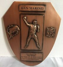 Limited Edition 2000 Dan Marino Monumental Moments 61361 Yards NFL Leader Plaque