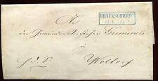 BRAUNSCHWEIG 1860 ca VORPHILABRIEF nach WOLTORF(C1002