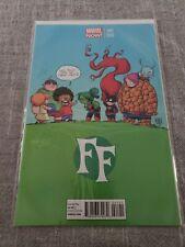Marvel FF Fantastic Four #1 Scottie Young Variant