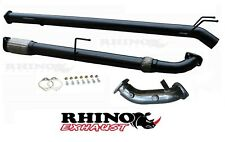 """TOYOTA HILUX EXHAUST D4D KUN SERIES 3"""" INCH TURBO BACK EXHAUST NO CAT/DIFF PIPE"""
