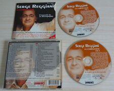 2 CD ALBUM BEST OF LA COMPILATION SERGE REGGIANI 40 TITRES 2002 JACQUES CANETTI