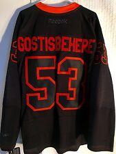 Reebok Premier NHL Jersey Philadelphia Flyers Gostisbehere Black Accel sz M