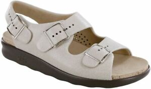 SAS Relaxed Sandal Web Linen, Women's Shoes, Many Sizes And Widths FREE SHIPPING