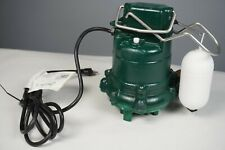 Zoeller 53-0001 AUTOMATIC Sump/ Effluent water Pump 1/3HP 115V M53 Submersible