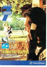 PUBLICITE ADVERTISING 126  1994  France Telecom  transfert d'appel