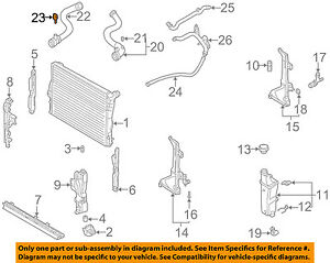 BMW OEM 03-08 Z4-Coolant Temperature Sensor 13621433077