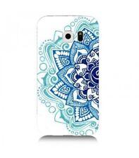 Carcasa Galaxy S7 Edge Mandala 2 Azteca Étnico Flor Azul Doodling