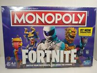 Monopoly: Fortnite Edition Board Game Ages 13 + Cello Sealed