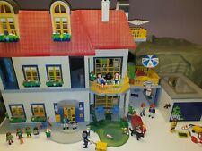 PLAYMOBIL Einfamilienhaus 3965 & Garage 4318 & Zusatzetage viel Zubehör