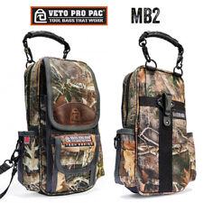 Veto Pro Pac MB2 Camo Tech Series Tall Signal Level Meter Bag Tool Pouch Storage