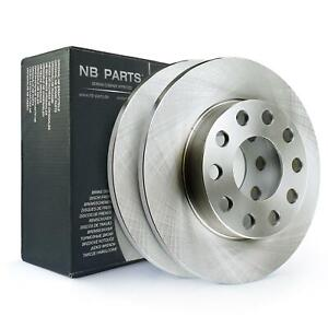 Brake Discs Rear 245mm Full Audi A4 B6 B7 Cabriolet Coupe Seat Exeo 3R2 3R5