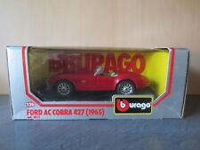 +++Burago Bburago Ford AC Cobra 427 (1965) 1:24+++Neu OVP Cod. 0513