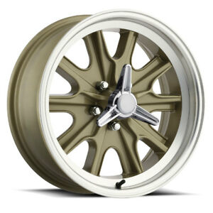 Mustang Cougar Fairlane Falcon Legendary 17 x 7  Hilibrand style Wheel 5 on 4.5