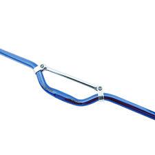 UNO MANUBRIO TRAVERSINO 25,4 MM BLU BLUE ALLUMINIO BICI BICICLETTA MTB DOWNHILL