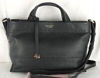 "Radley ""Hampstead Heath"" Black Leather Multiway Cross Body or Grab Bag Medium"