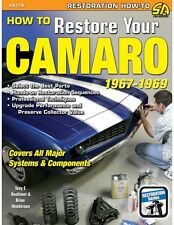 How to Restore Your Camaro 1967-1969~in-depth, hands-on info~1967 1968 1969~NEW!