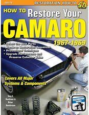 How to Restore Your Camaro 1967-1969~in-depth, hands-on info~1967 1968 1969~NEW!