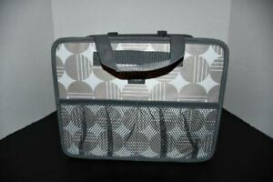 Thirty One Fold N File DELUXE Organizer in Deco Dots NWT