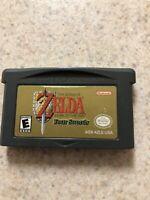 Legend Of Zelda Link Four Swords Nintendo Gameboy ADVANCE GBA-Authentic & Tested