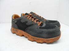 Timberland PRO Men's Powertrain Alloy-Toe Work Shoe 92660 Black/Orange Size 10W