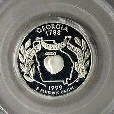 1999-S Georgia State Quarter 25c PCGS PR68 DCAM  RG211
