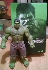 Hot Toys Avengers Hulk figure signed by Stan the man Lee Thor