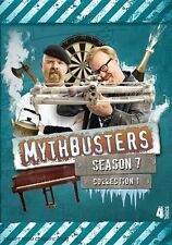 Mythbusters : Season 7 : Collection 1 (DVD, 2012, 4-Disc Set)