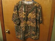 PERFECT CAMO CAMOUFLAGE HUNTING T SHIRT SHORT & LONG SLEEVE MADE IN THE USA NEW!